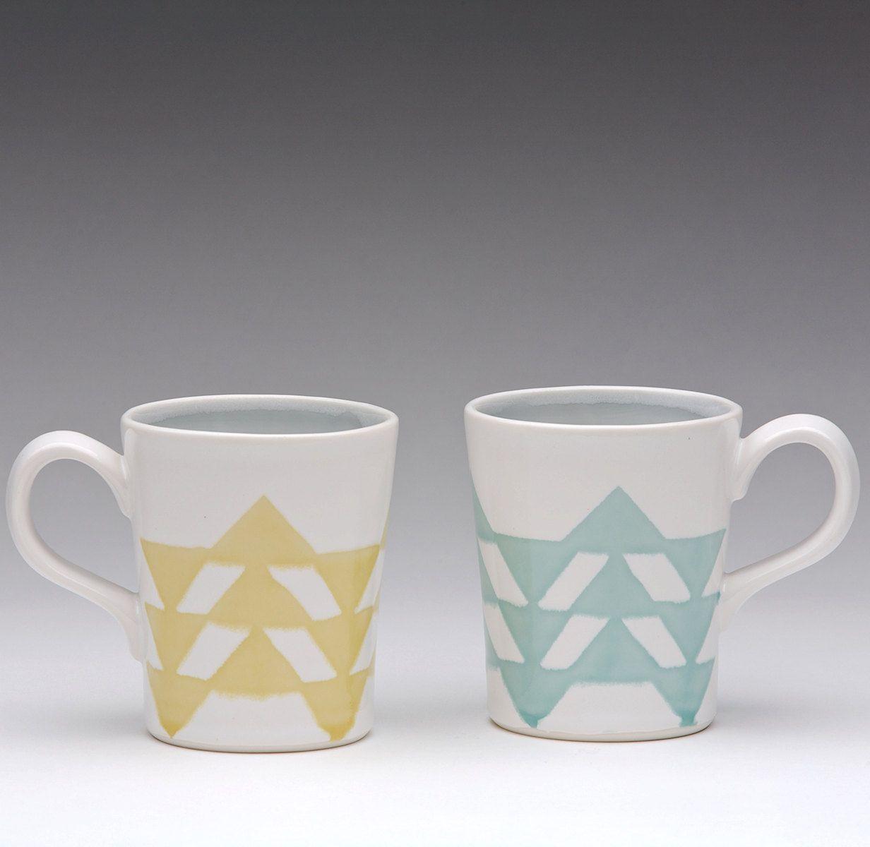 Triangle Mugs