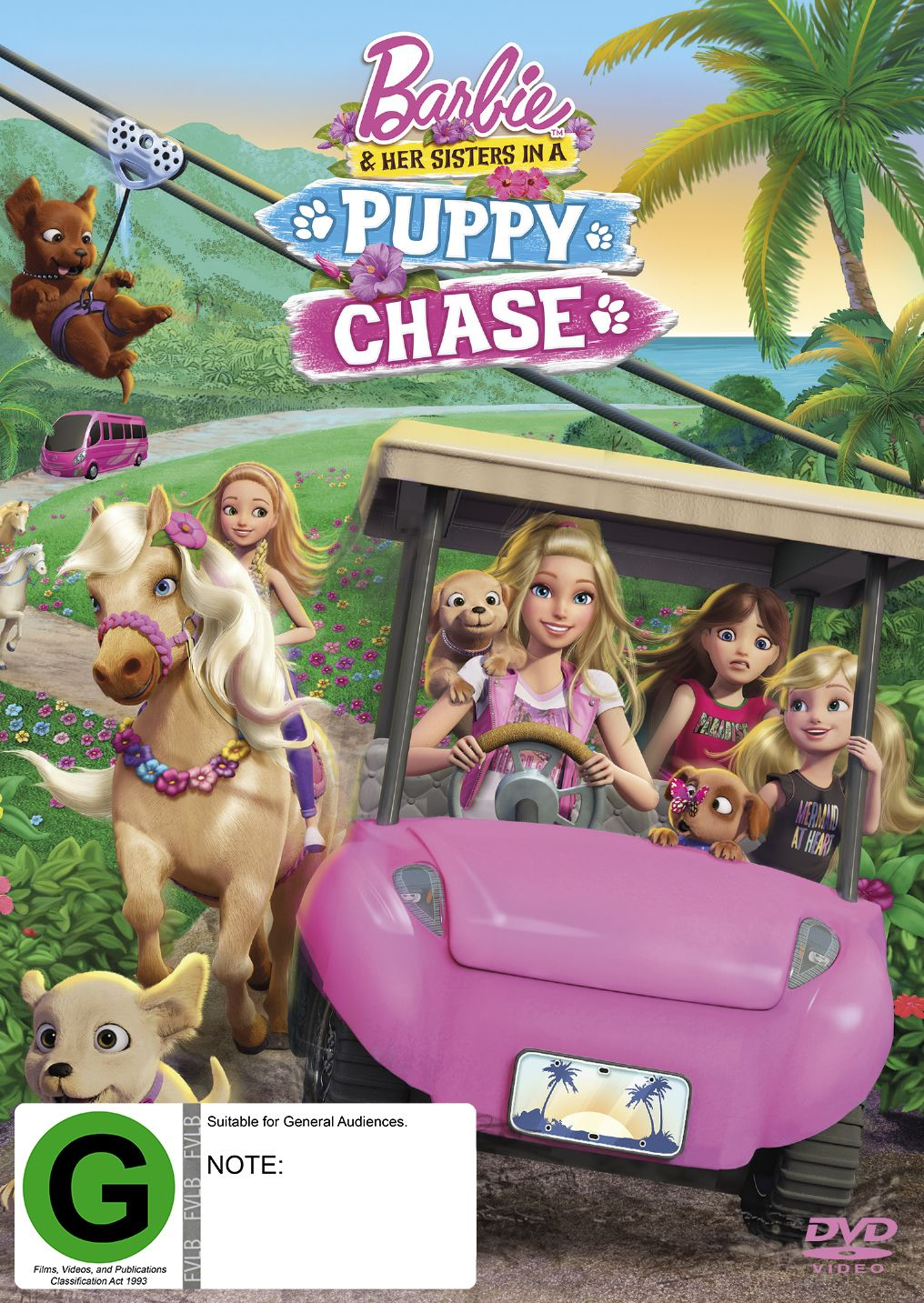 Barbie Her Sisters In A Puppy Chase Dvd Barbie And Her Sisters Cute Puppy Videos Barbie Movies
