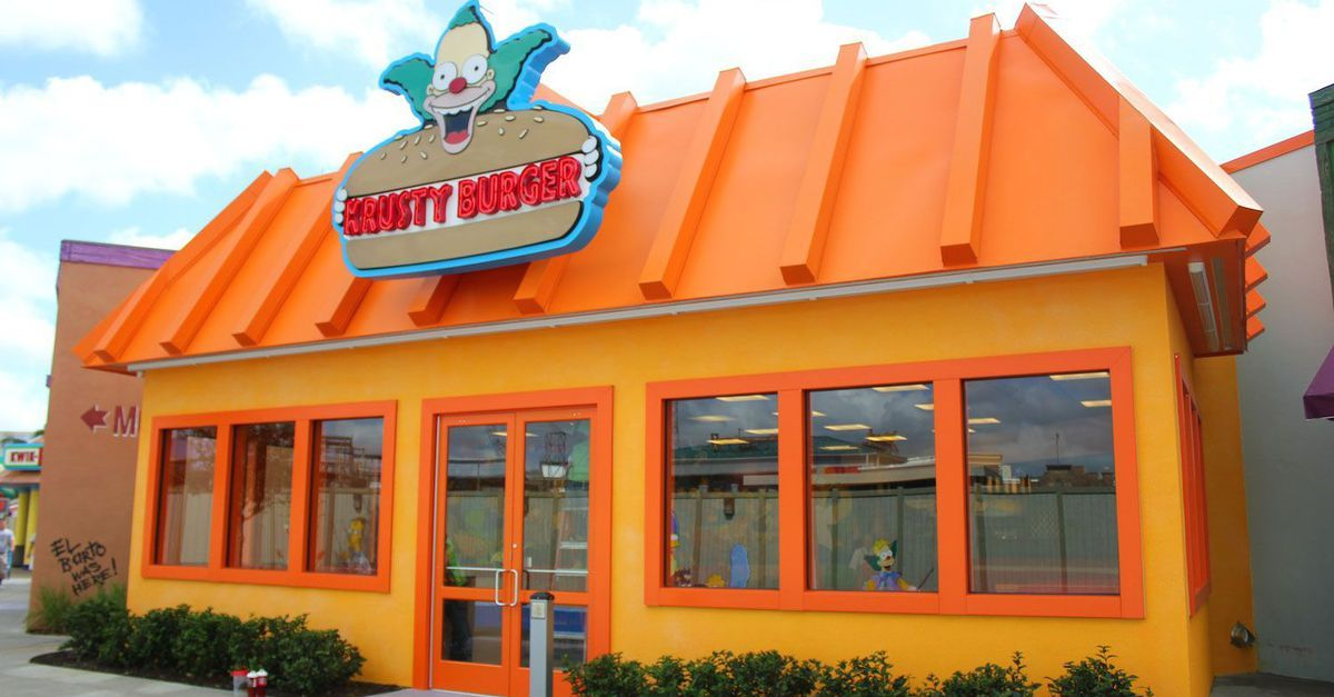 Check out the real-life version of Springfield and <em>The Simpsons</em> at Universal Studios Florida.
