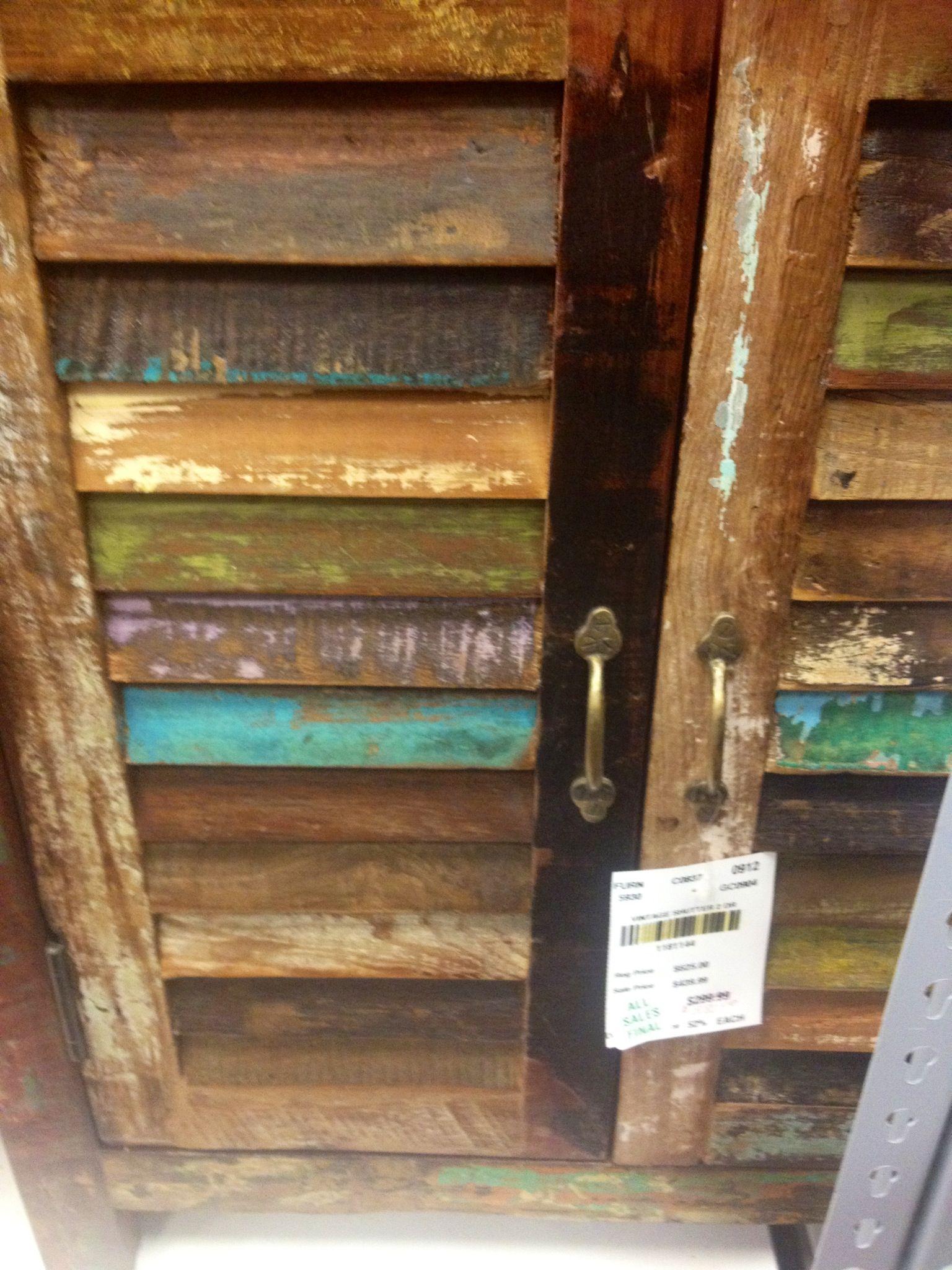 Distressed louvered doors louvered door ideas cool diy