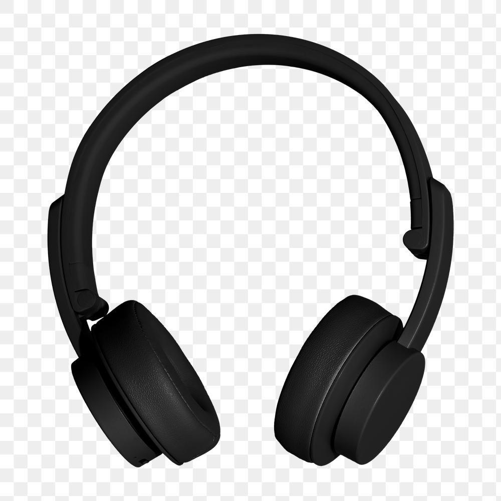 Black Wireless Headphone Design Element Free Image By Rawpixel Com Kutthaleeyo Headphones Design Black Headphones Wireless Headphones