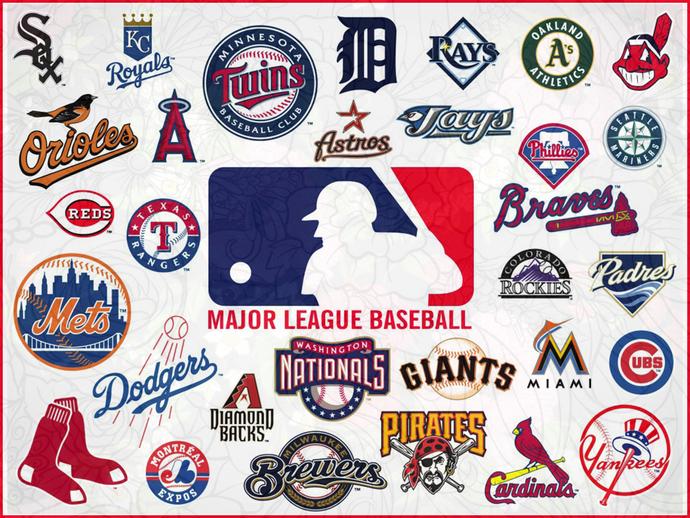 Mlb Teams Logo Bundle Svg Mlb Teams Svg Mlb Teams T Shirt Mlb Teams Logo Sport Logo Bundle By In 2020 Major League Baseball Logo Baseball Teams Logo Mlb Team Logos