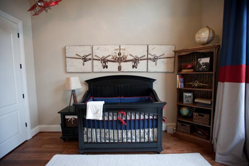 Boy Airplane Room Ideas Apartments Vintage Airplane