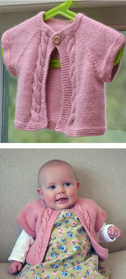 Baby Cardigan Sweater Knitting Patterns | Baby sweaters, Stockinette ...