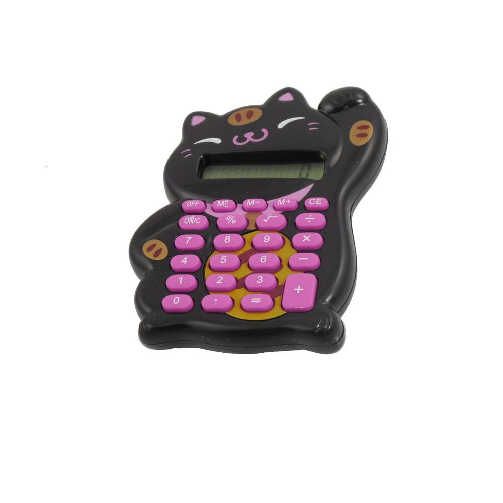 crazy office supplies. Black Lucky Cat Shaped 8 Digits LCD Display Electronic Calculator In Business, Office \u0026 Industrial, Equipment Supplies, Crazy Supplies N