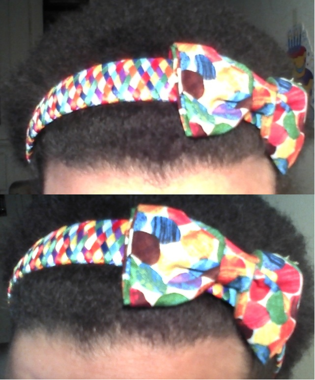 Eric Carle Inspired Ribbon Woven Headband With A Fabric Bow Using The Color Dots Fabric From The Eric Carle Fabric Lin Woven Headband Fabric Bows Dotted Fabric