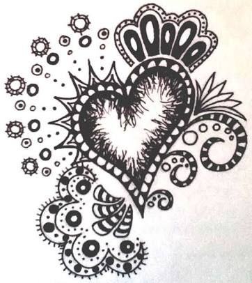 Cool designs to draw with sharpie flowers google search for Cool easy pen drawings