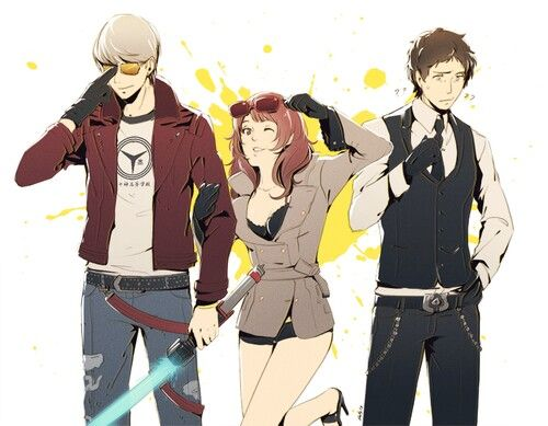 Persona 4 X No More Heroes