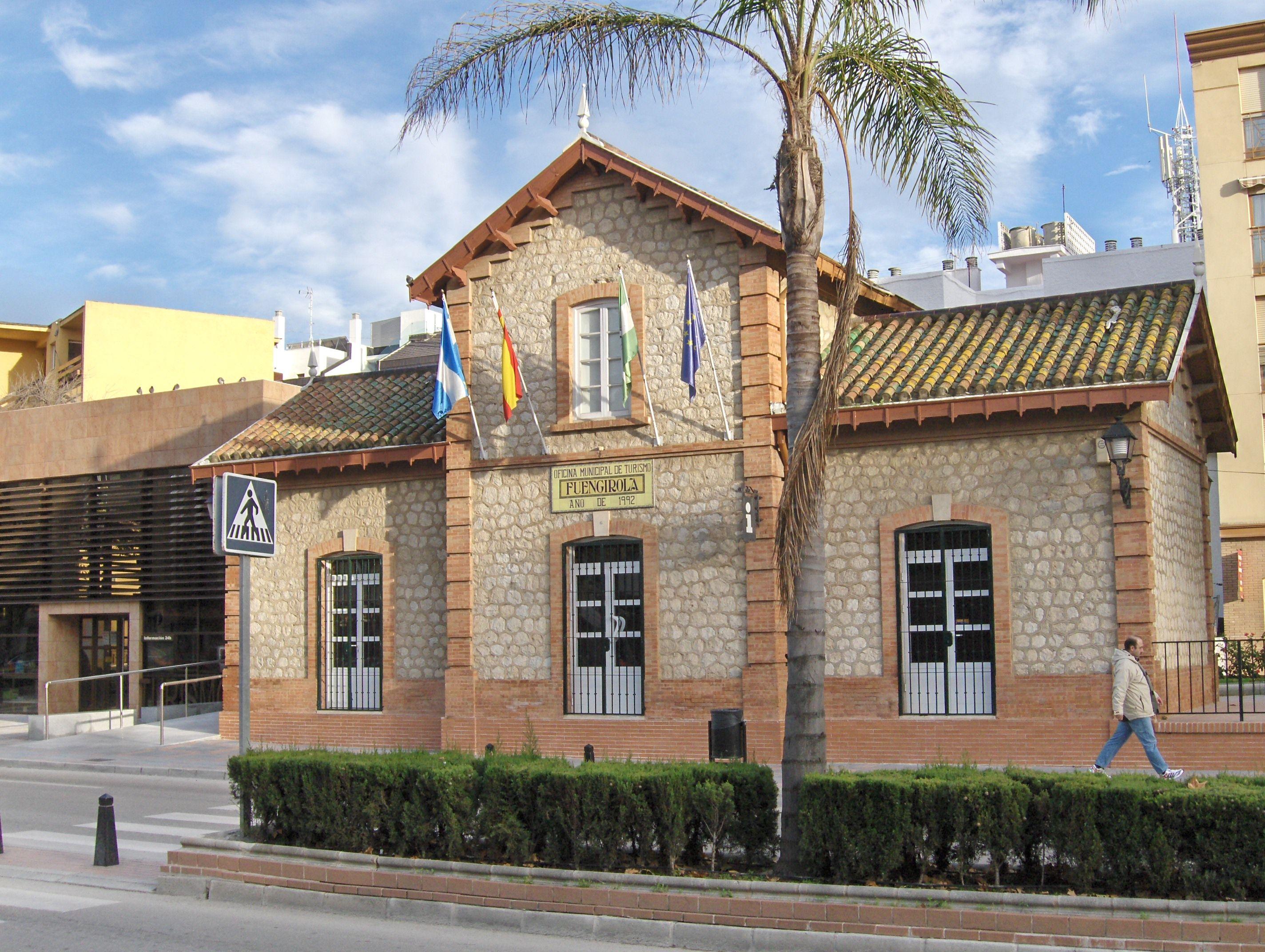 antiguo estación ferrocarriles Fuengirola