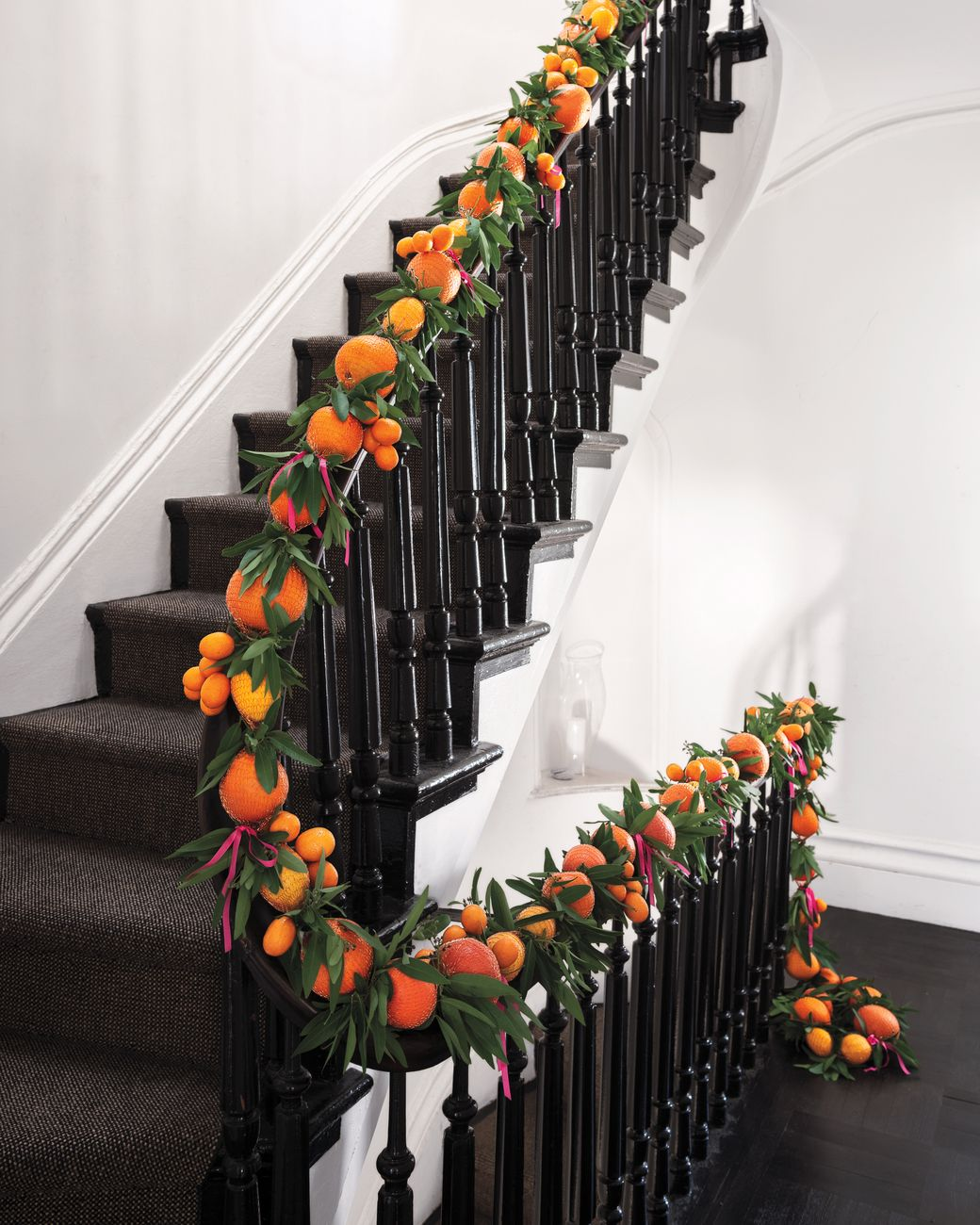 100 Awesome Christmas Stairs Decoration Ideas: Easy Christmas Decorations, Christmas