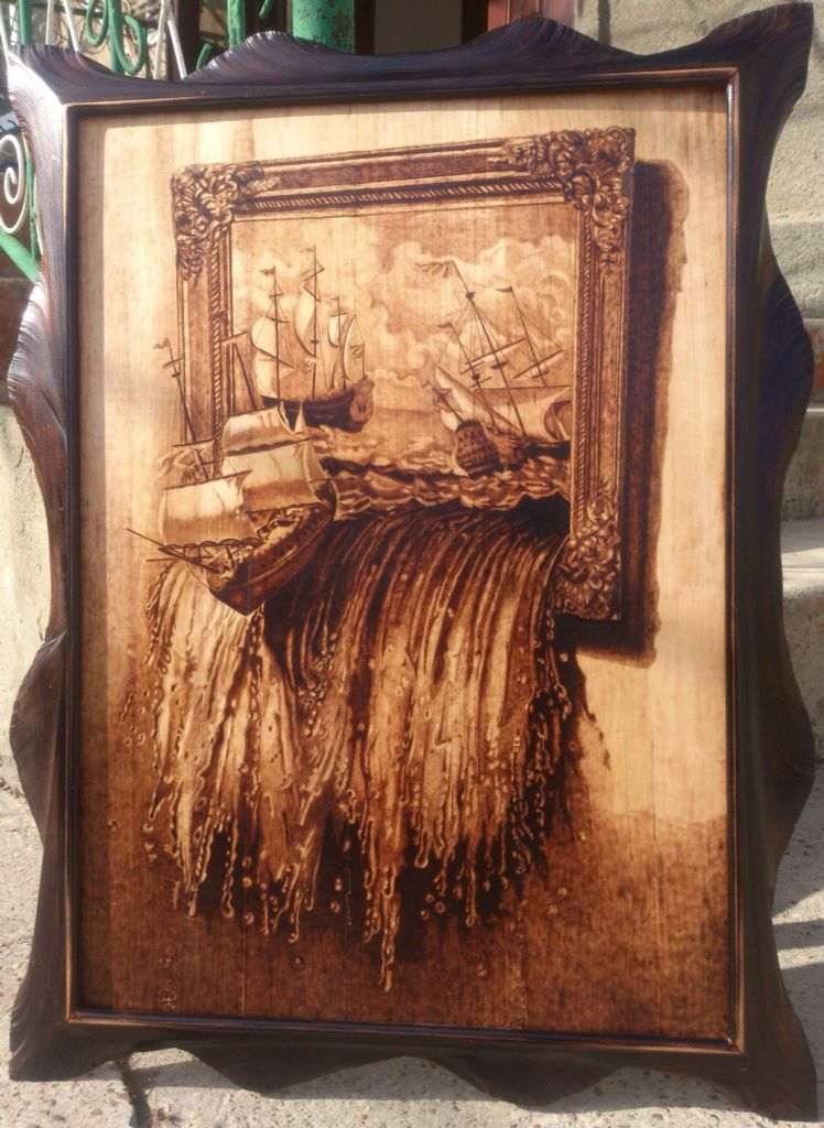 What An Awesome Presentation And Burning Well Done Wood Burning Patterns Wood Burning Art Pyrography Art