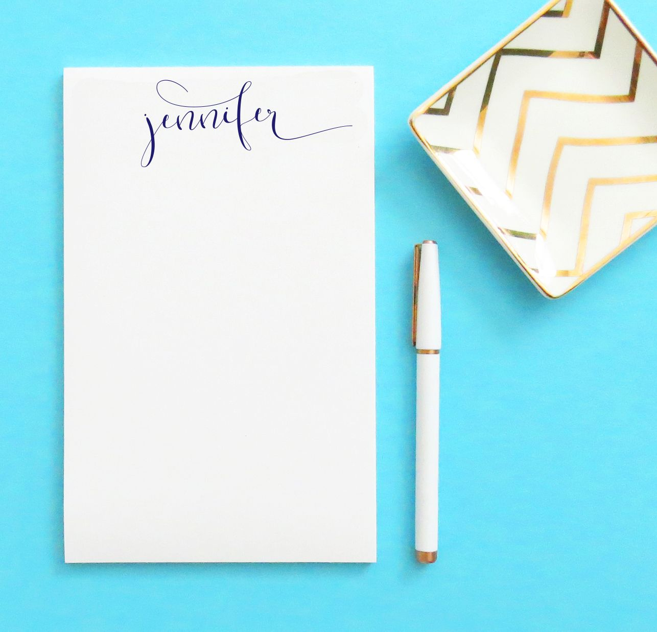 004 LIMITED EDITION Notepad in Custom Calligraphy Stationery