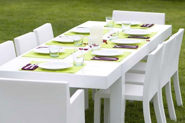 come scegliere il tavolo da giardino | esterni | pinterest | terrazzo - Mobili Da Giardino In Plastica Moderno