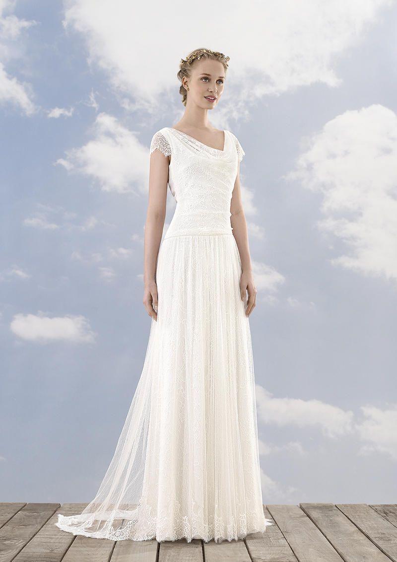 Rembo Styling Brautkleid 12 Sarah  Hochzeitskleid spitze, Kleid