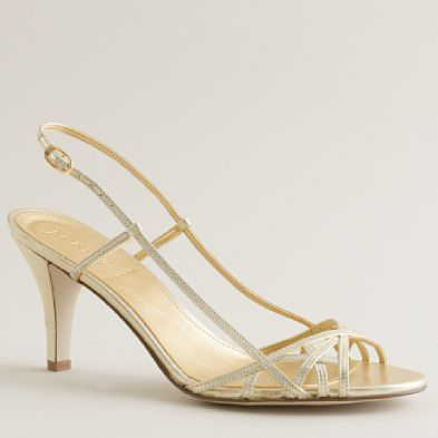 wedding's bride  shoes  jillian strappy highheel