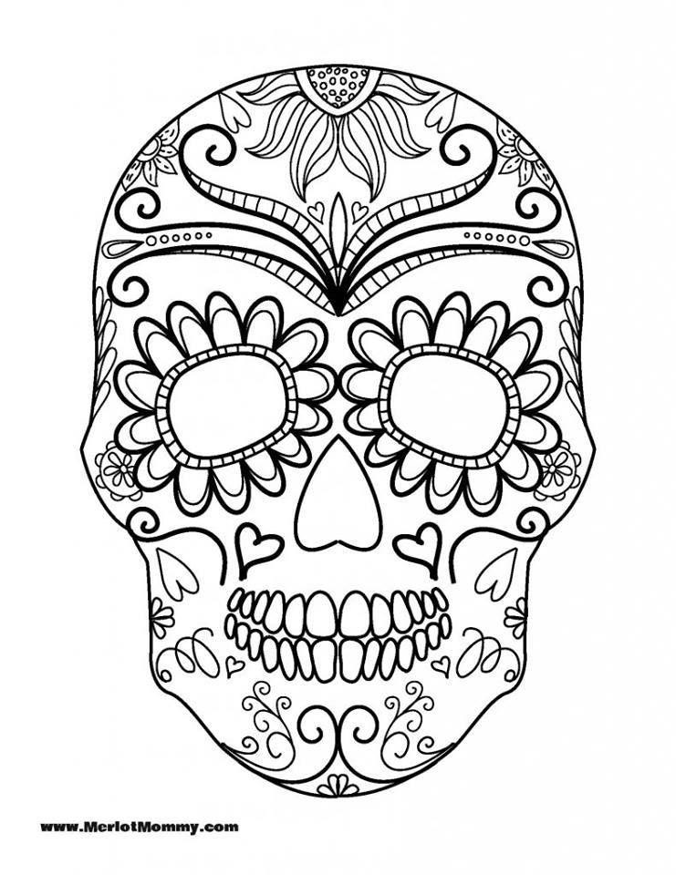 Dibujos-para-colorear-el-d%C3%ADa-de-los-muertos-17.jpg (741×960 ...