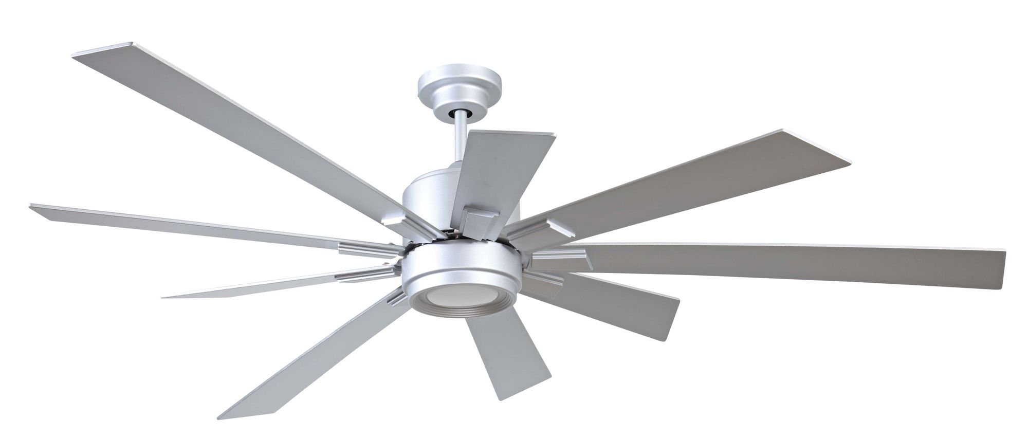 Katana ceiling fan with light is a shining example of what happens katana ceiling fan with light is a shining example of what happens when form follows function created with nine blades in various sizes and set against a aloadofball Images