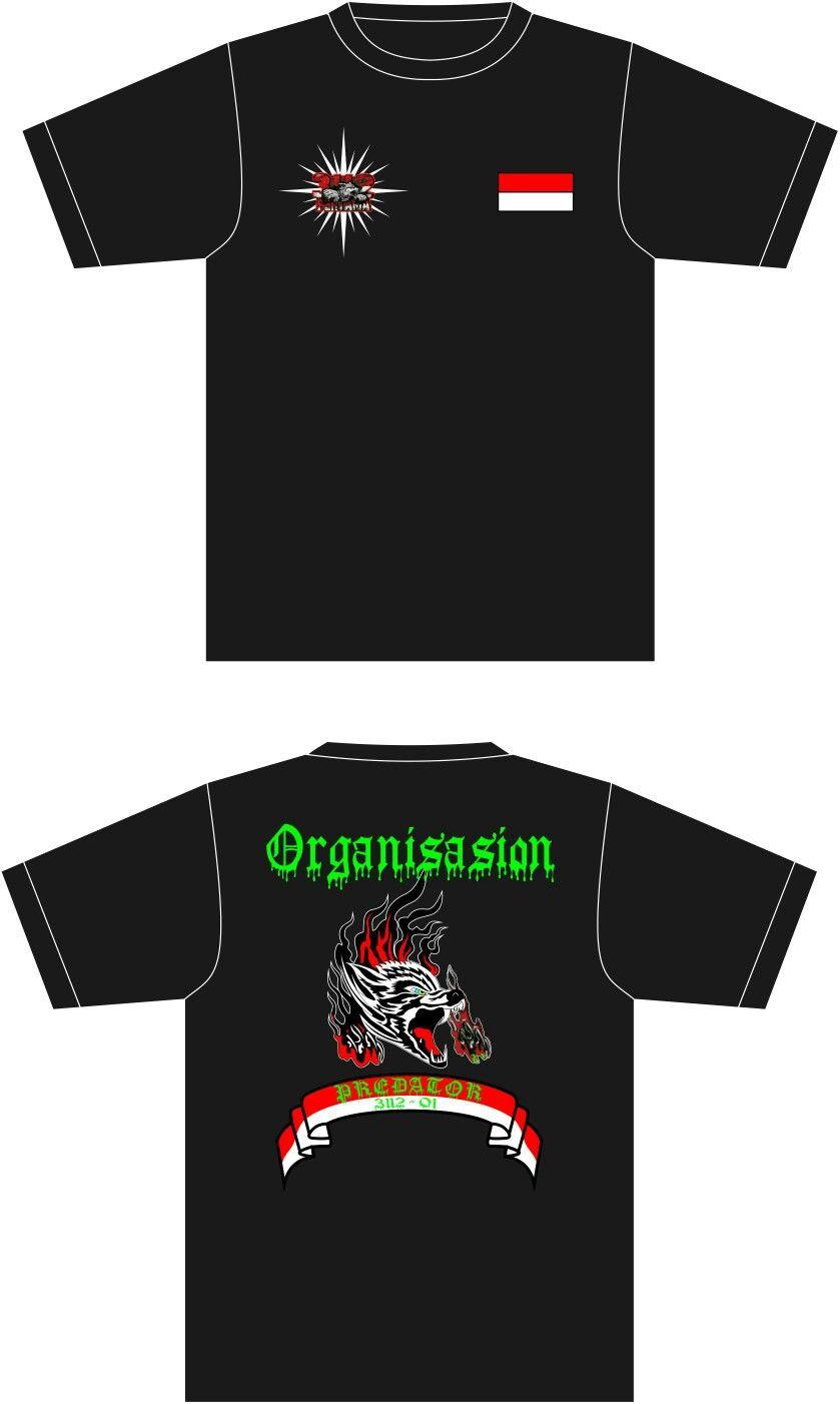 Design baju t shirt kelas - Desain Kaos Organisasion