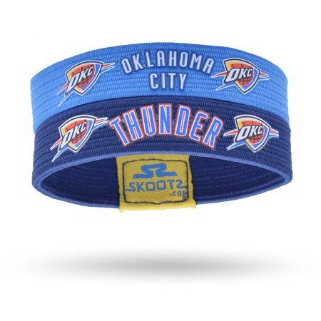 low priced 92236 8f166 SkootZ Wristband, Oklahoma City Thunder, Size: Medium ...