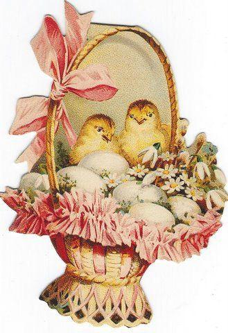 Vintage gifted line chicks in basket easter card vintage gifts vintage gifted line chicks in basket easter card negle Choice Image