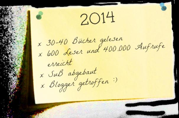 2014 in Stichworten