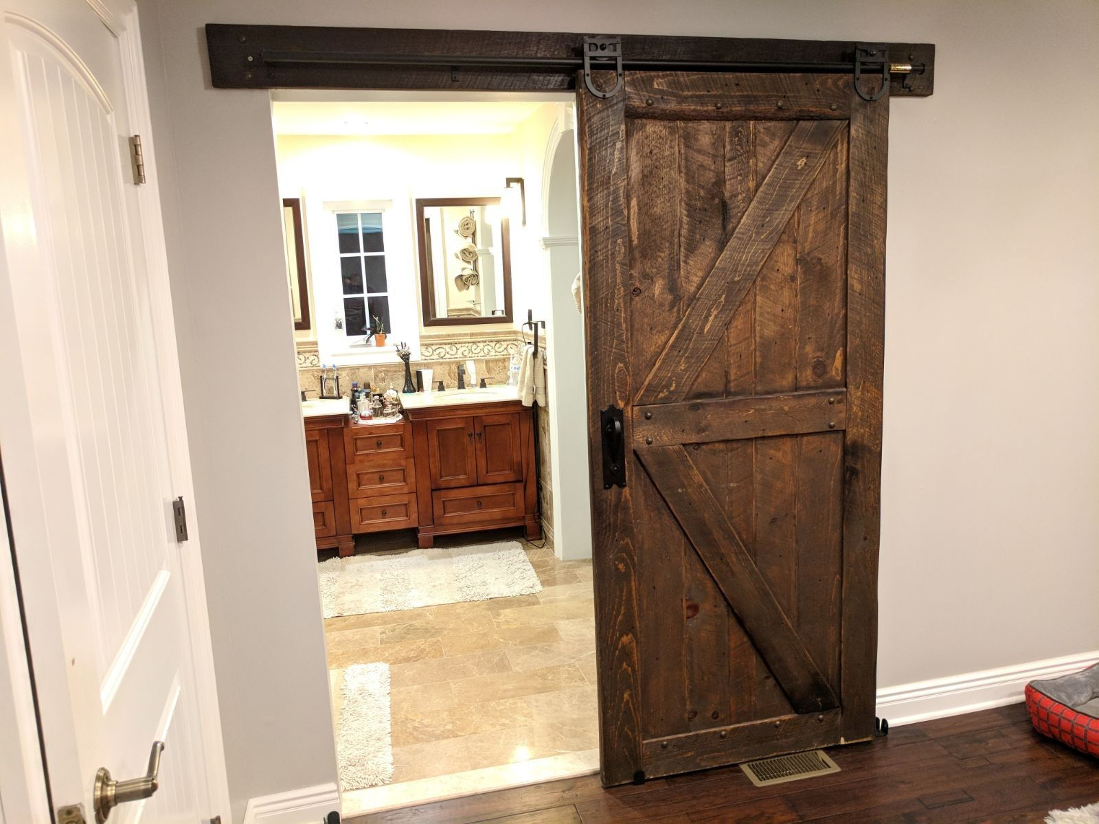 Barn doors a rustic and authentic way to worm up your home barn