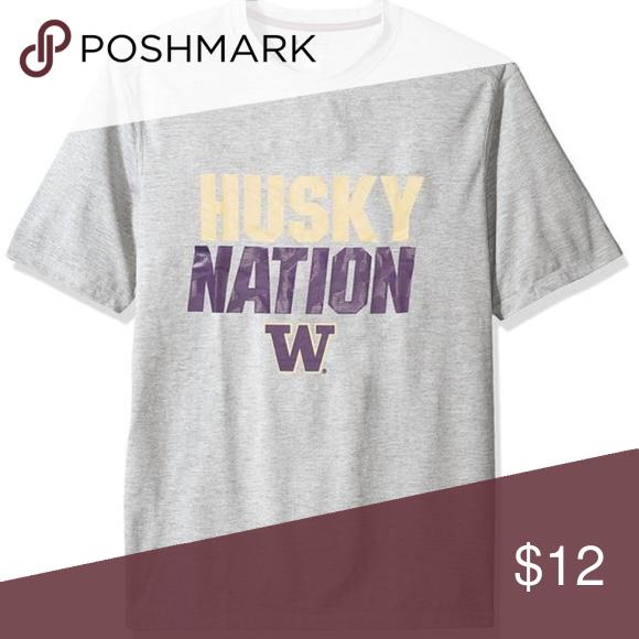 5595b59872745 NCAA Washington Huskies Men s Poly+ T-Shirt NCAA Washington Huskies Men s  Poly+ T-Shirt