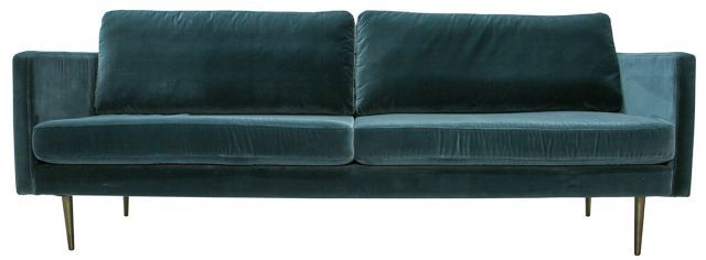 The Big Apple Velvet 3 Seater Sofa 3 Seater Sofa Sofa Home Decor