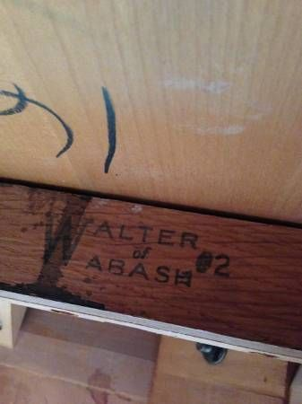 Walter Of Wabash Dining Table... Maple