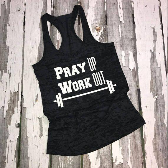 Wake Up Workout Worship Tank