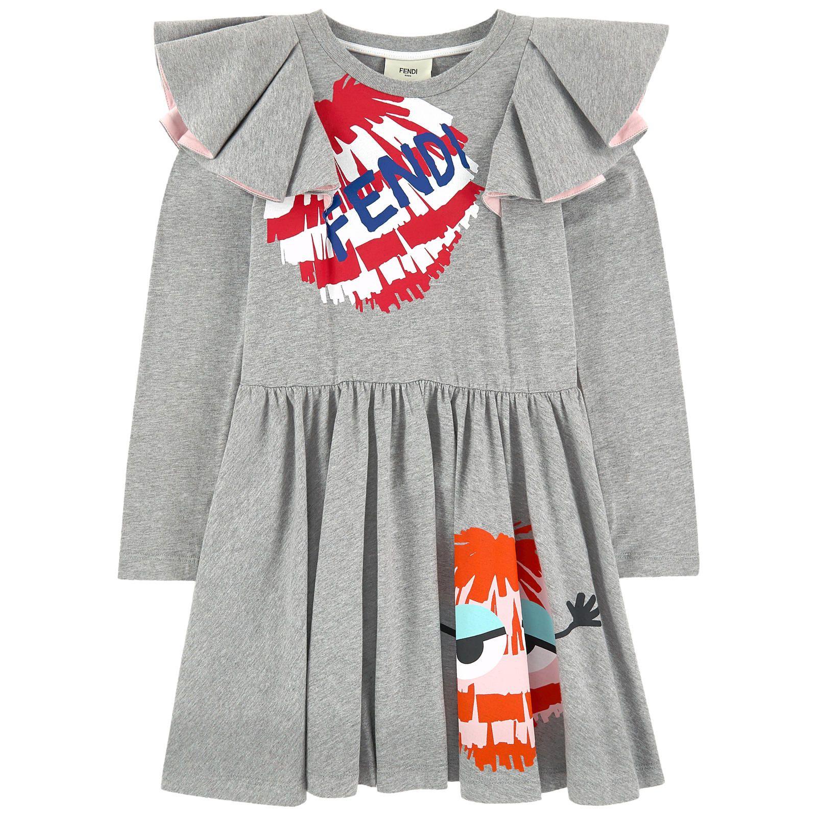 Dress With Flounces Jersey Dress Fashion Clothes Design