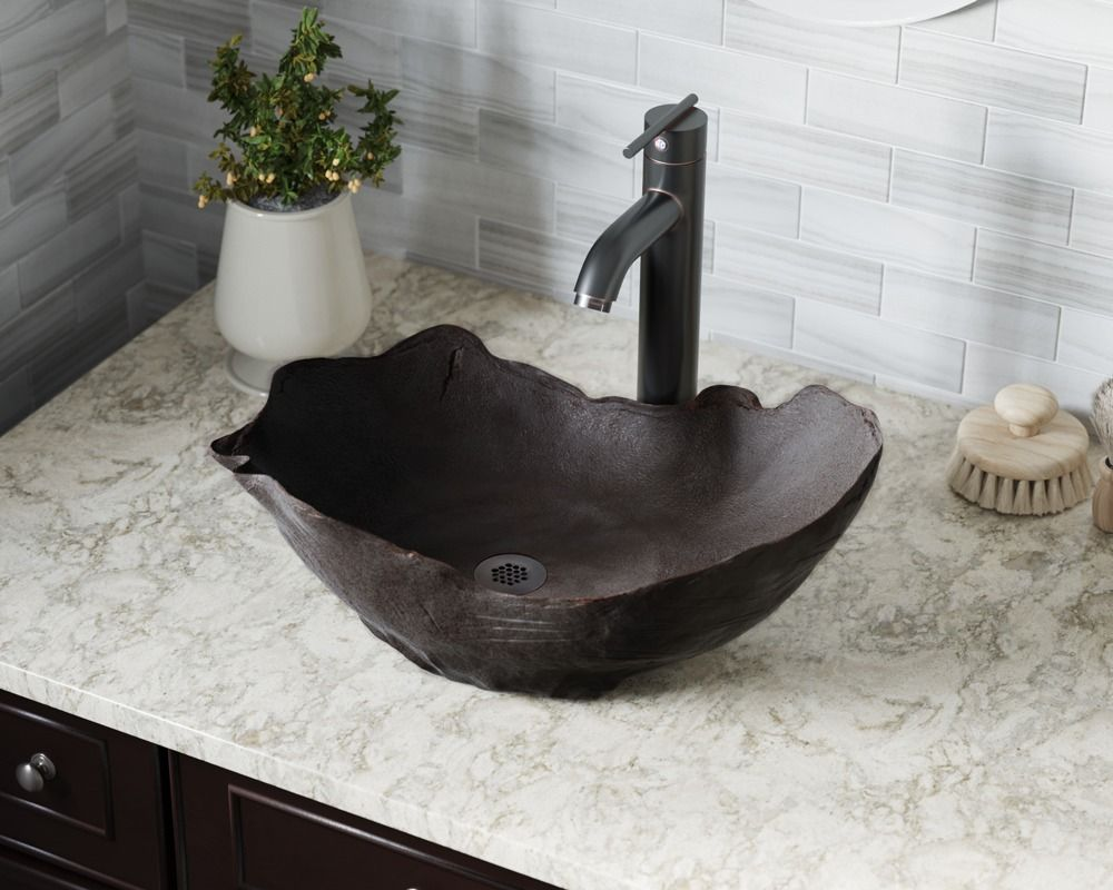 963 Chalice Bronze Vessel Sink Stone Vessel Sinks Bathroom Sink