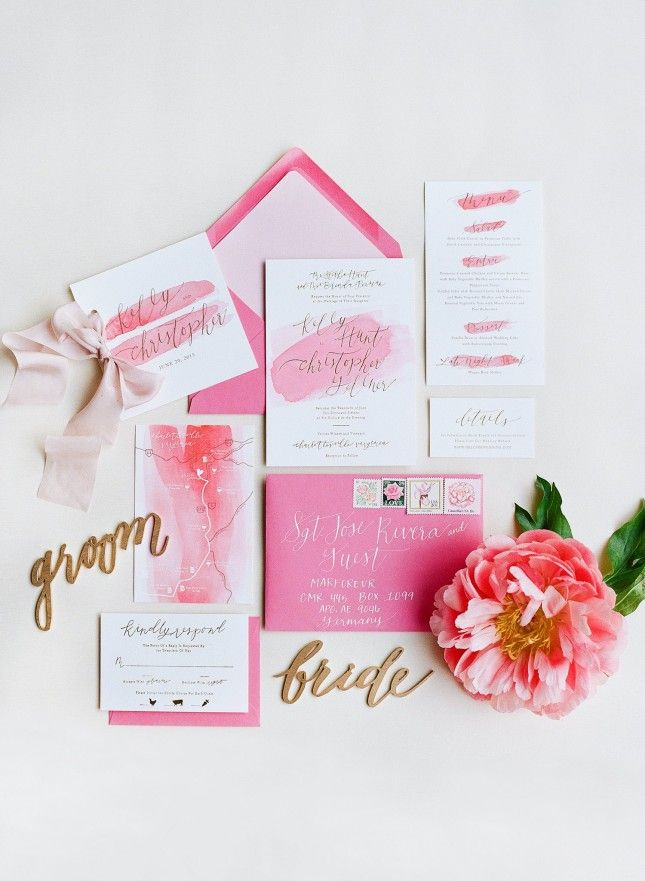 15 Gold Foil Wedding Invitations That Will Make You Swoon Wedding