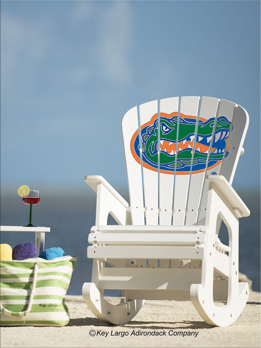Charming University Of Florida Gators Rocking Chair