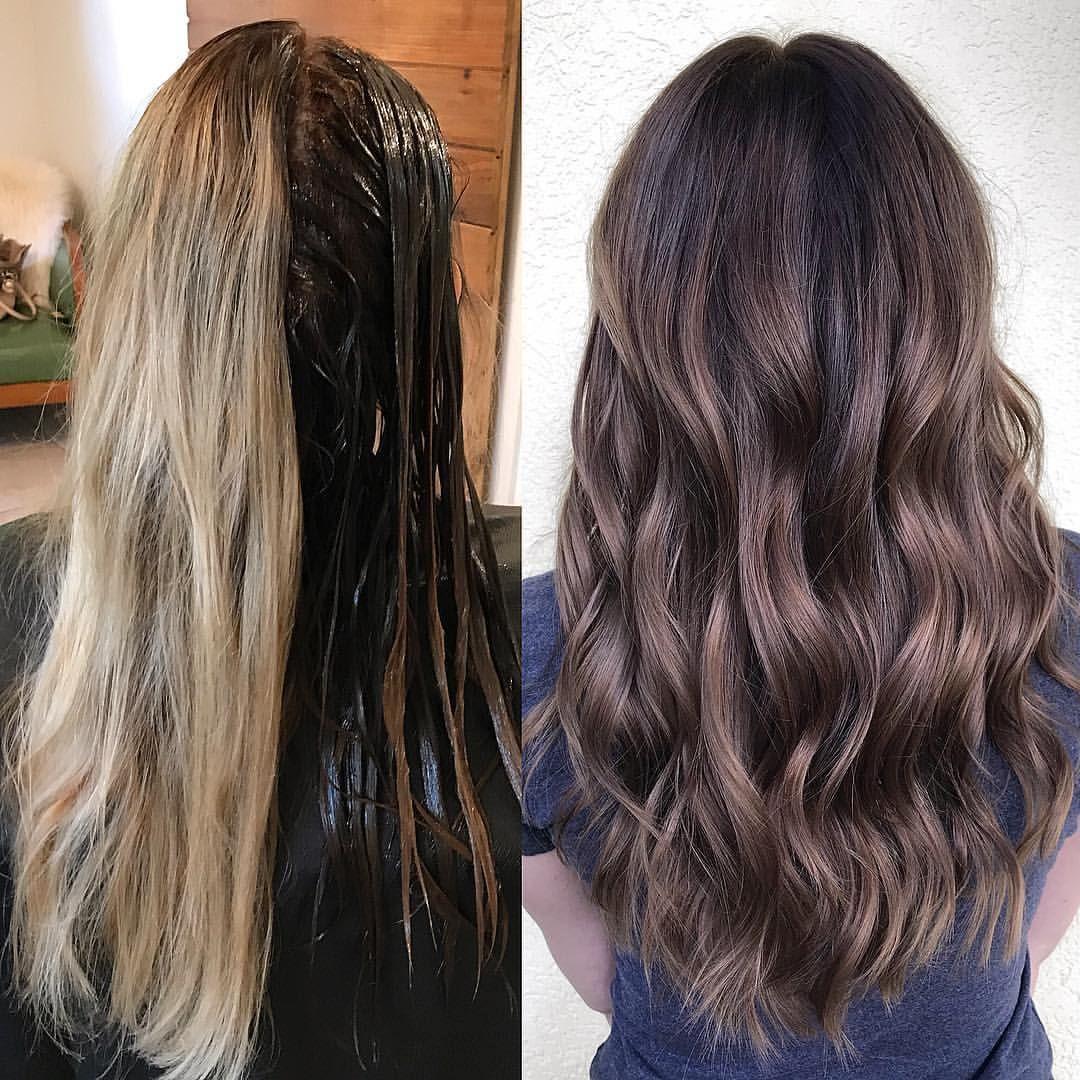 Bye Bye Blondie Kellymassiashair Carmel Brown Hair Hair Styles Brown Hair Balayage