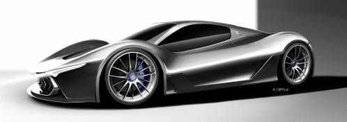 Maserati MC-63 Is a Stunning Design Proposal for a LaFerrari Sibling