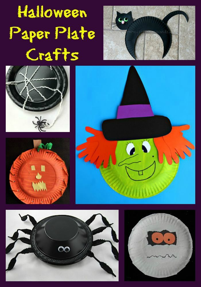 Halloween Paper Plate Crafts - - Paper Plates should be a household staple! Not only & Halloween Paper Plate Crafts - - Paper Plates should be a household ...