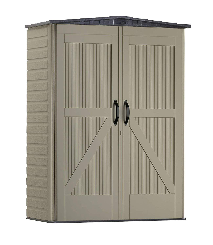 Amazonsmile Rubbermaid Storage Shed 5x2 Feet Sandalwood Onyx