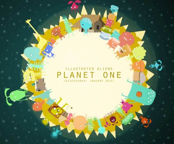 """The Planets"" is a series of mini animated short films designed and directed by Andy Martin. Each short film leads us to discover a different planet, populated"