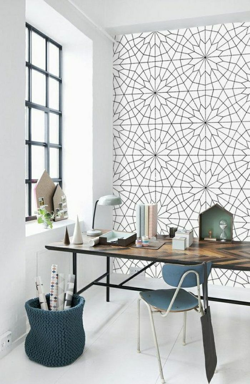 trendiges design tapeten moderne tapeten ideen schöne tapeten