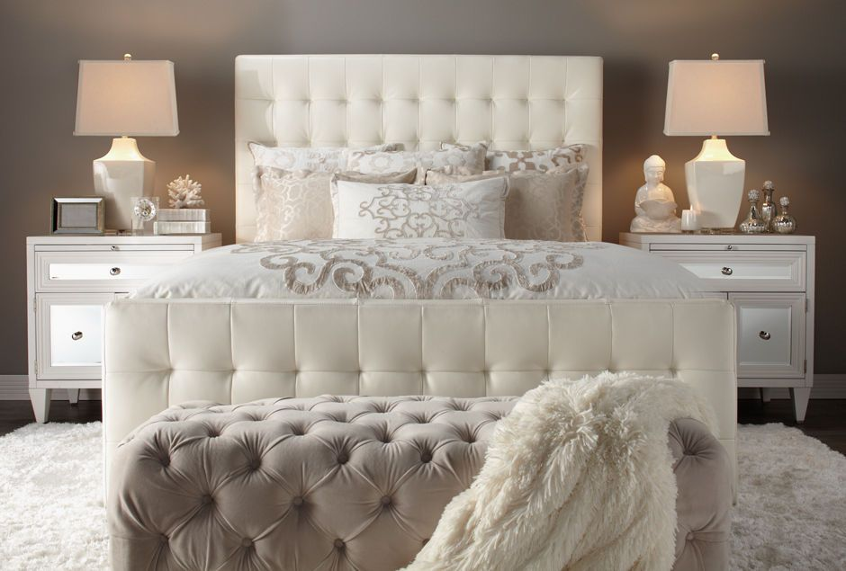 modern chic bedroom. Refresh your bedroom for the new year  Glam Living Space