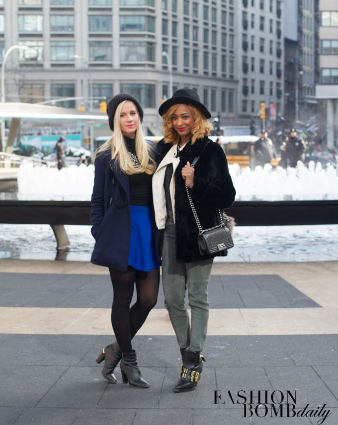 4 Mercedes Benz New York Fashion Week Fashion Bomb Daily Fall 2014 Shows Winter snow boots