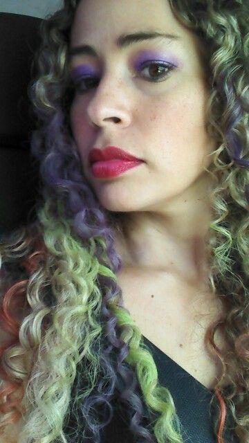 Colorindo os cabelos!