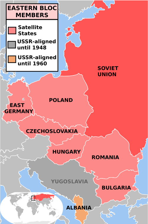 In 1953 the ussr and its satellite countries created a communist in 1953 the ussr and its satellite countries created a communist bloc this included the nations of the warsaw pact the bloc opposed the nato pact gumiabroncs Images