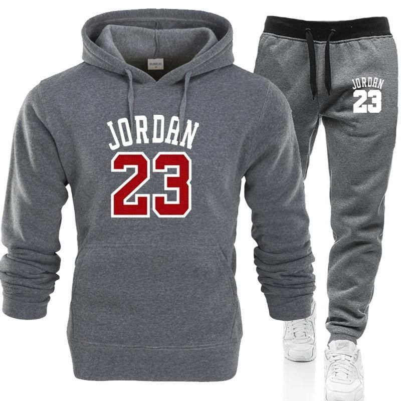 2dce6e10 2019 JORDAN 23 Men Sportswear Hoodies Set Spring Suit Clothes Tracksuits  Maledresslliy