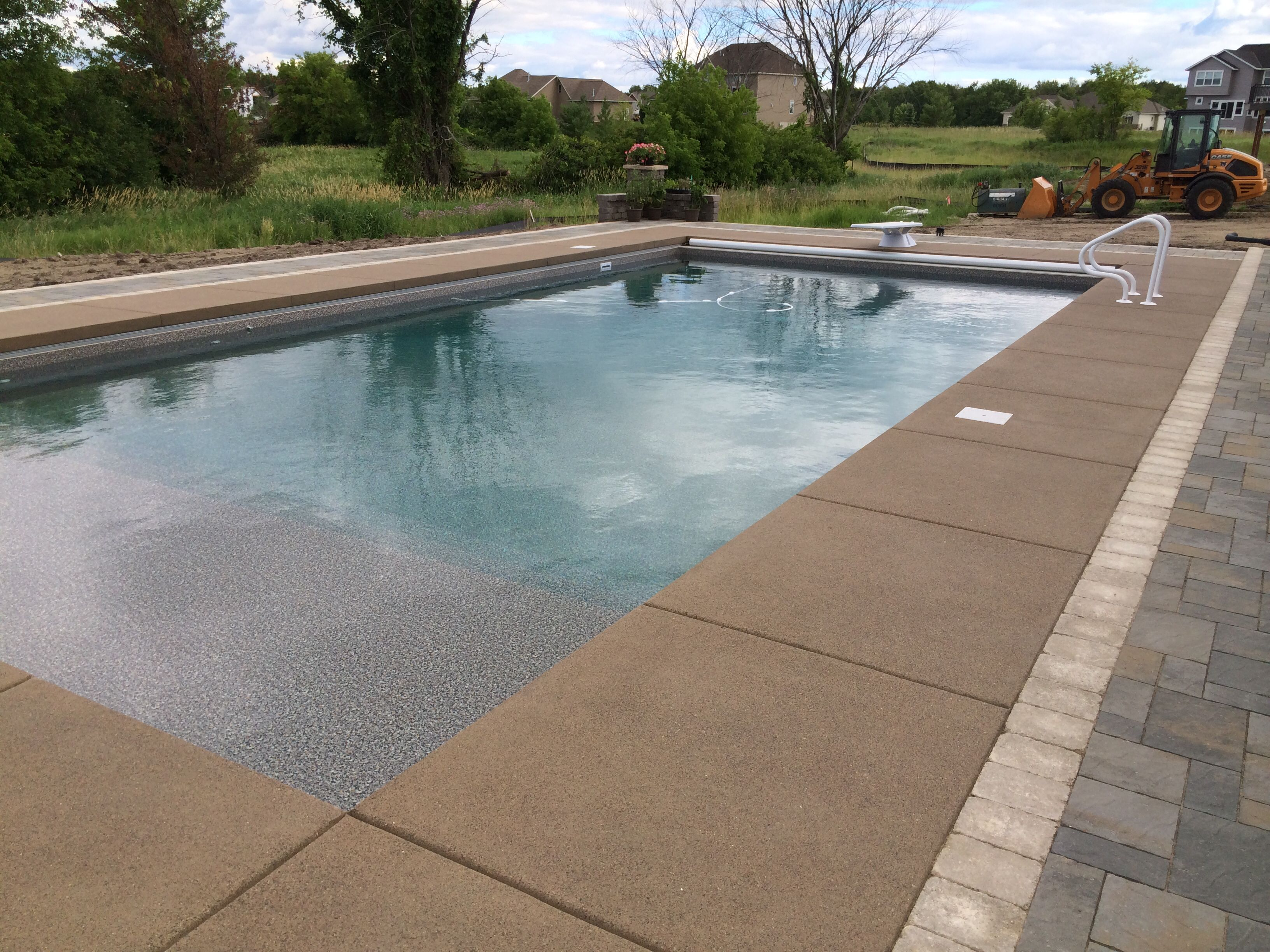 Colored Concrete Pool Deck Sierra Concrete Art's Exclusive Microetch Finished Colored