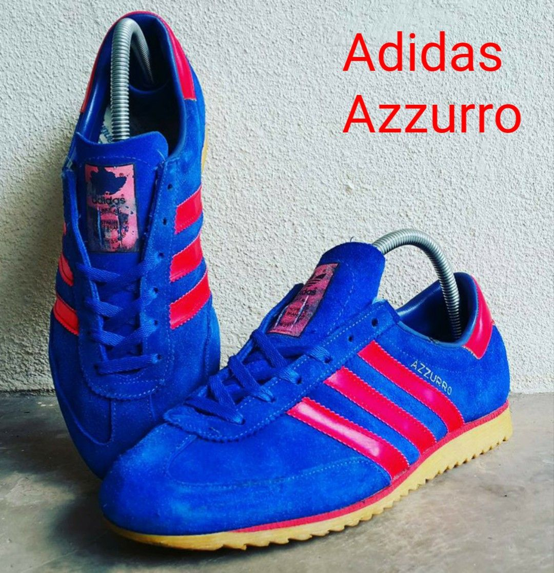 Vintage Adidas Azzurro the Azzurro is becoming a true rare