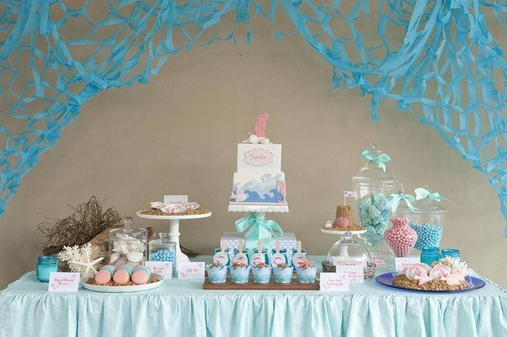 Mermaid Baby Shower Ideas Photo   8