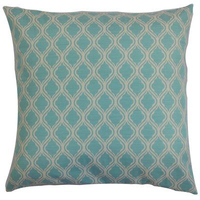The Pillow Collection Panyin Geometric Outdoor Throw Pillow Cover