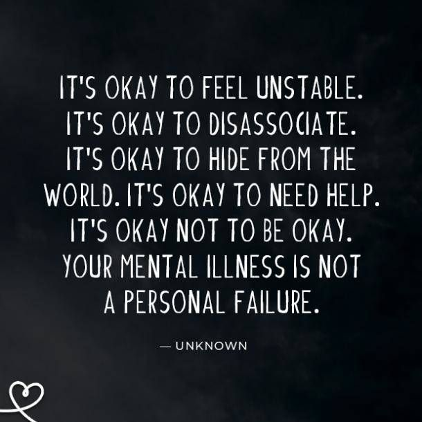 25 Mental Illness Quotes & Quotes About Mental Health To Help You Feel Less Alone